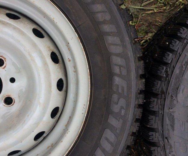 Зимние колеса r13 на ваз. Фото 4.