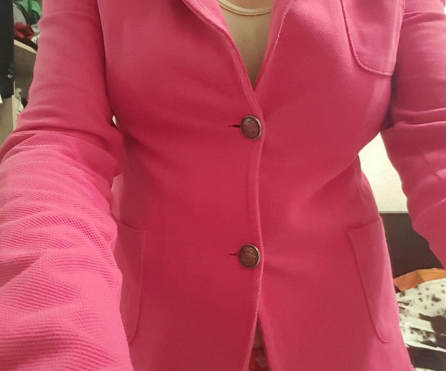 Розовый пиджак bershka/m. Фото 1. Москва.
