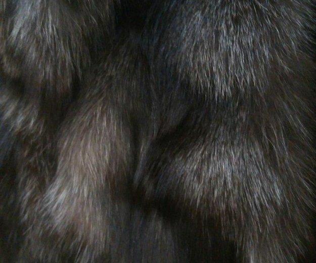 Меховая жилетка из чернобурки. Фото 3. Санкт-Петербург.