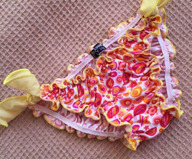Купальные бикини ф. calzedonia на 4/5 лет,б/у. Фото 2. Москва.