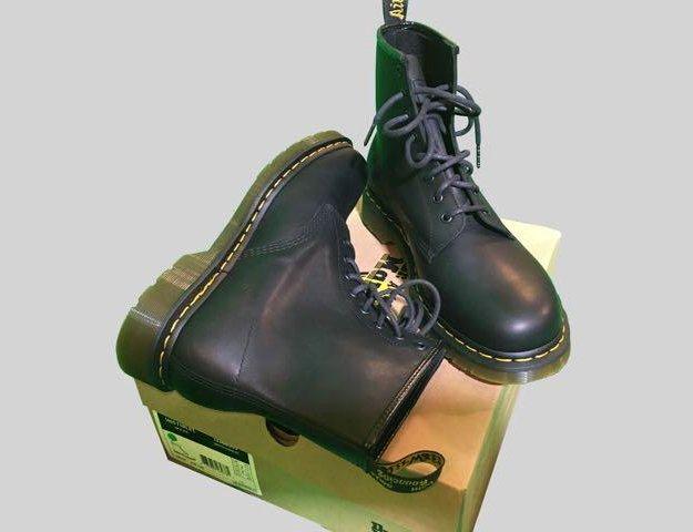 Культовые неубиваемые ботинки dr.martens. Фото 1. Москва.