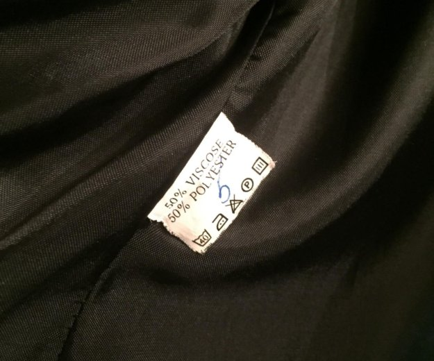 Пиджак женский чёрный. р.52 костюм. Фото 2. Москва.