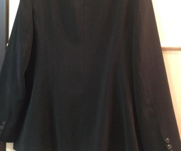 Пиджак женский чёрный. р.52 костюм. Фото 3. Москва.
