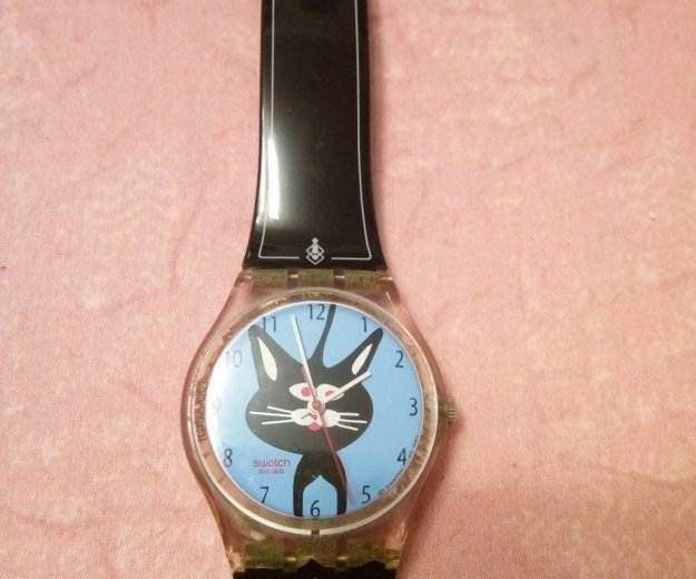 Часы swatch бу. Фото 1. Москва.