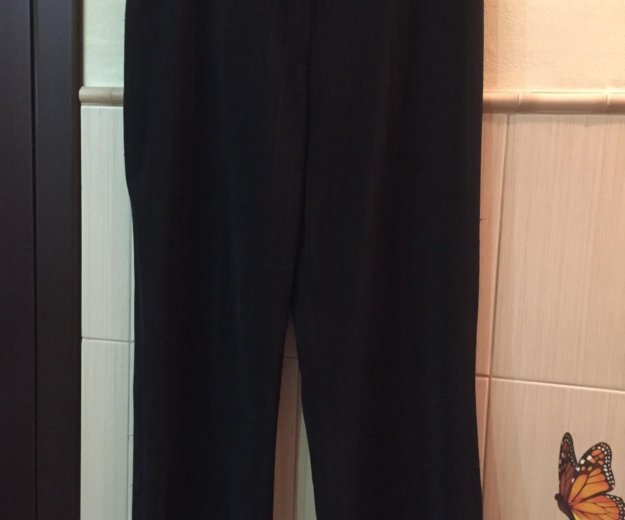 Пиджак женский чёрный. р.52 костюм. Фото 4. Москва.