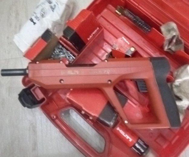 Пороховой монтажный пистолет. Фото 2. Артем.