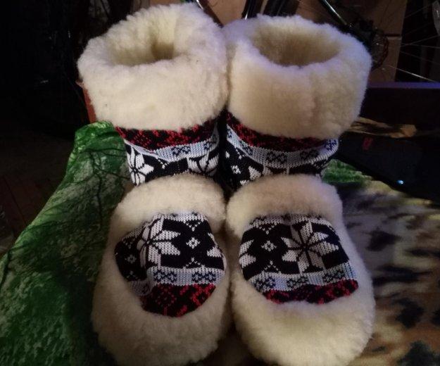 Чуни из овчины. Фото 4. Санкт-Петербург.
