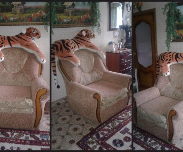 Кресло(раскладное) в отличном состоянии... Фото 1. Киреевск.