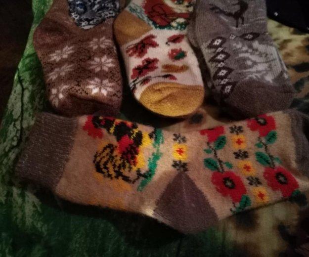 Женские носки из овечьей шерсти. Фото 1. Санкт-Петербург.