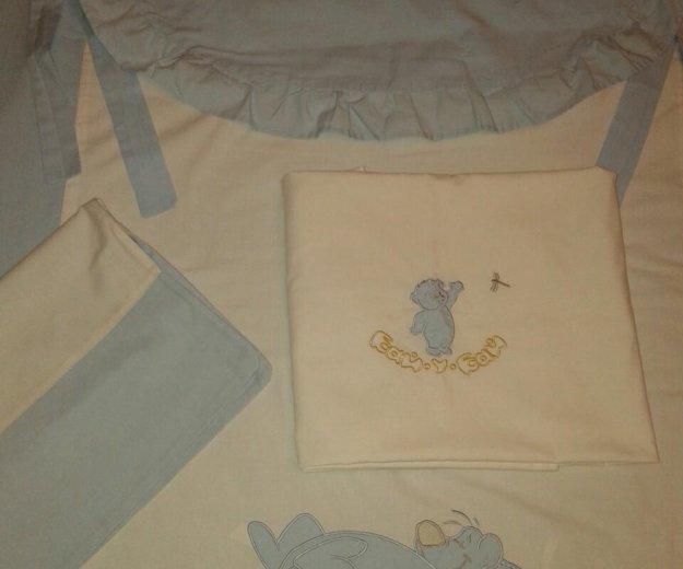 Постельное белье в детскую кроватку. Фото 3. Москва.