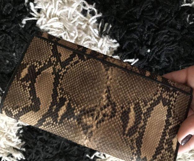 Кошелёк из кожи змеи. Фото 4. Хабаровск.