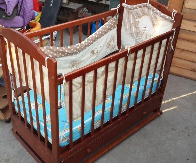 Продам детскую кроватку. Фото 1. Владивосток.