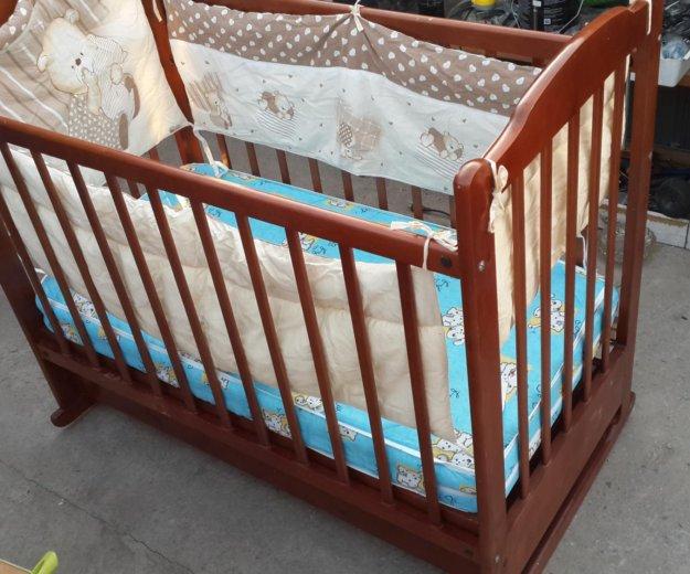 Продам детскую кроватку. Фото 2. Владивосток.