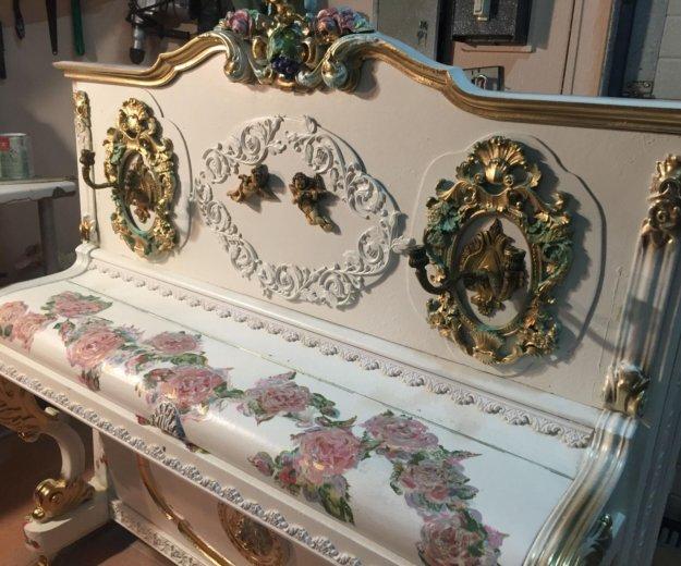 Румынское антикварное пианино как у дракулы в замк. Фото 1. Москва.
