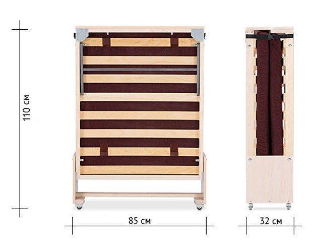 Кровать раскладушка. Фото 1. Щёлково.
