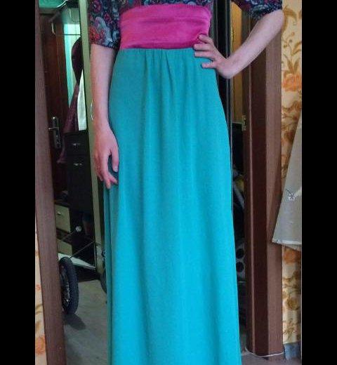 Платье в пол. Фото 4. Иркутск.