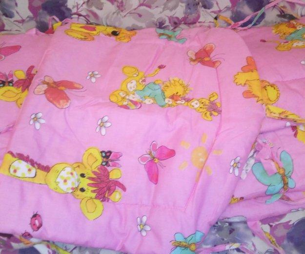 Бордюрчики для детской кроватки. Фото 1. Стрежевой.