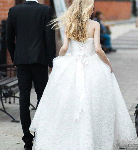 Свадебное платье. Фото 2. Иркутск.