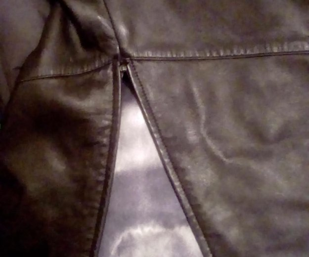 Кожаный плащ в пол. Фото 2. Всеволожск.