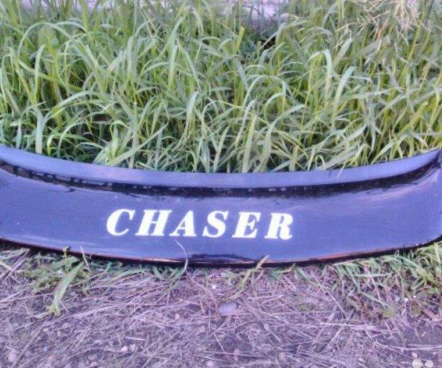 Козырек на чайзер(chaser) на заднее стекло. Фото 2. Иркутск.