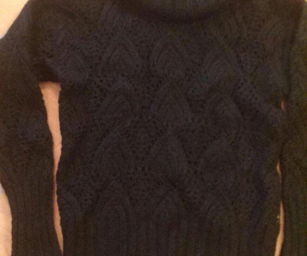 Красивый ажурный свитер 44-46. Фото 2. Новосибирск.