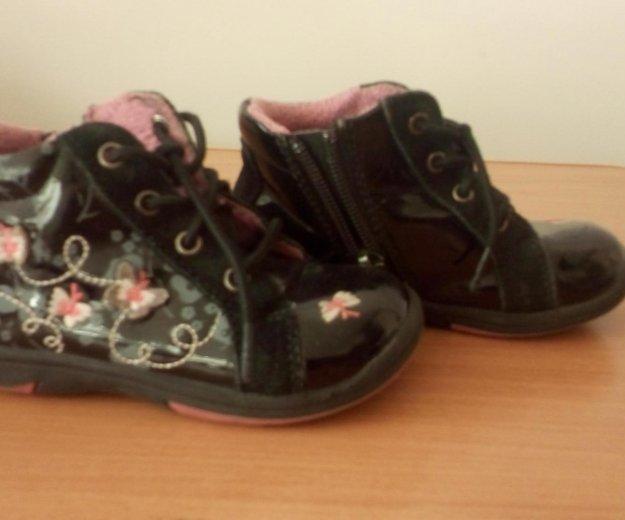 Ботиночки для девочки. Фото 1. Енисейск.