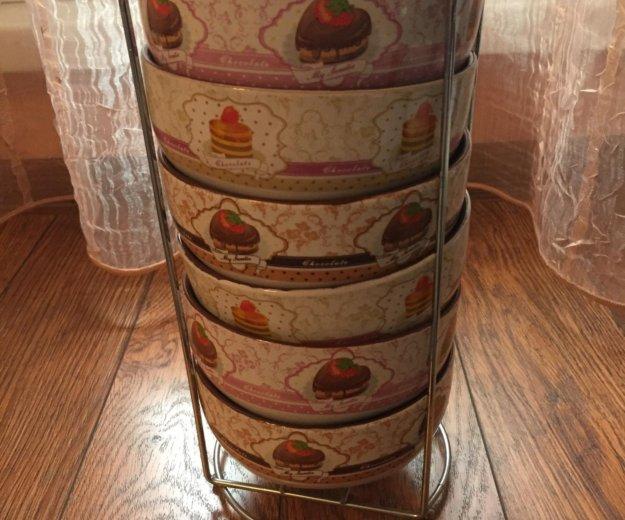 Тарелки, плошки,чайный набор,хрусталь. Фото 2.