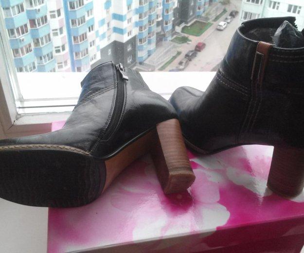 Ботинки деми 37р. Фото 2. Новосибирск.