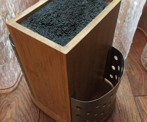 Кухонный органайзер для ножей и приборов. Фото 1. Тюмень.