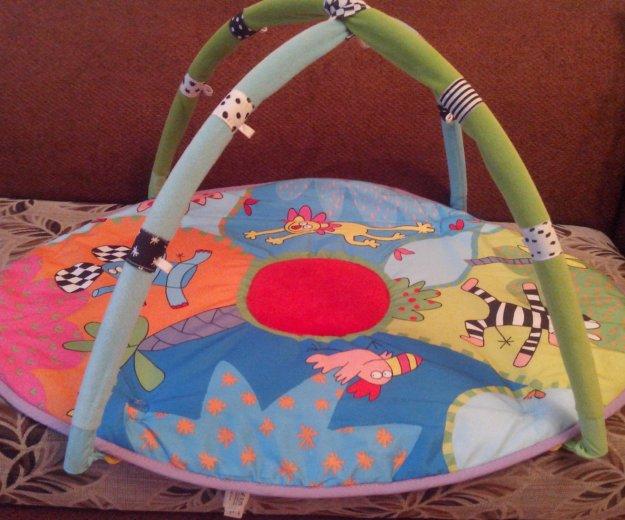 Кроватка, разв.ковр, прыгунки, сумка пер,коляска. Фото 3. Братск.