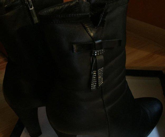 Зимние ботинки натуральная кожа. Фото 1. Уфа.