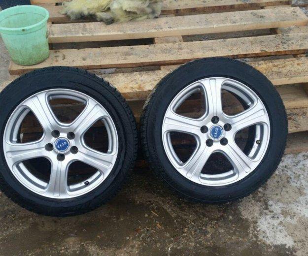 Вся сезонка комплек 4 колесо с литьем н.п.195×55. Фото 2. Якутск.