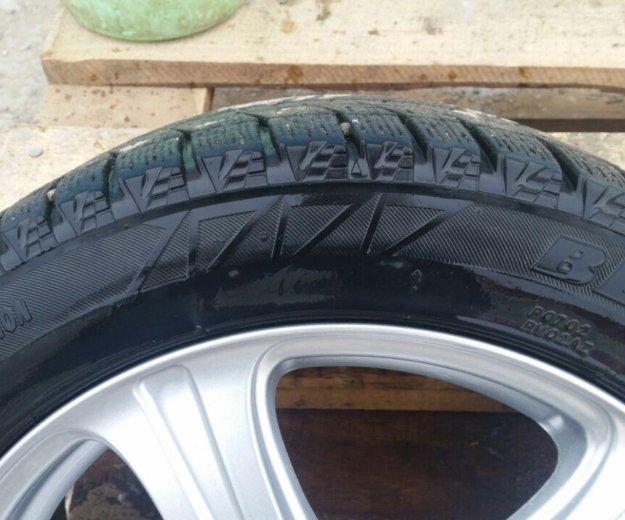 Вся сезонка комплек 4 колесо с литьем н.п.195×55. Фото 3. Якутск.
