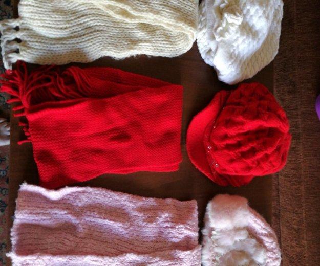 Комплект шарф+шапка. Фото 1. Хабаровск.
