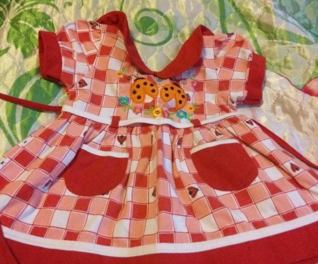 Новое платье 0-7 мес. Фото 1. Новосибирск.