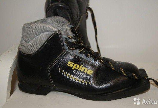 """Новые лыжные ботинки spine """"cross 35"""" размер 37. Фото 3."""