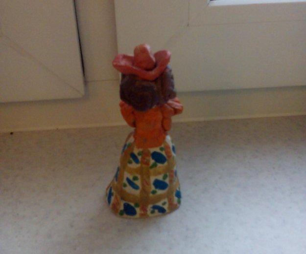 Кукла в технике керамика. Фото 2.