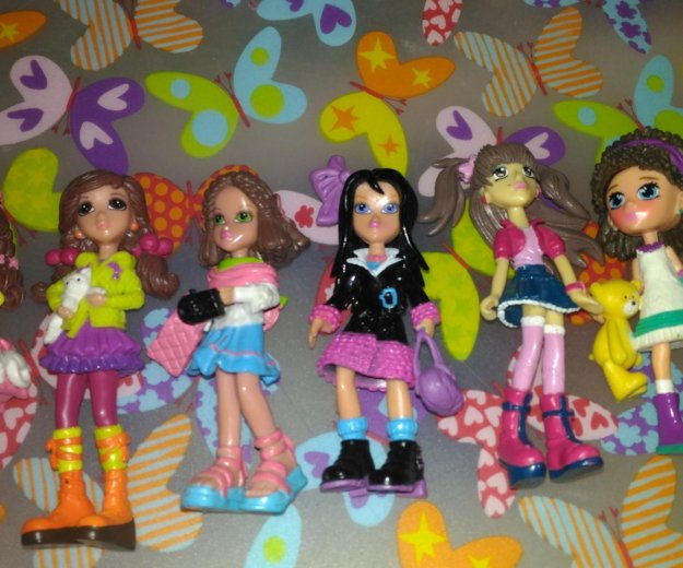 Куклы из sweet box. Фото 1.
