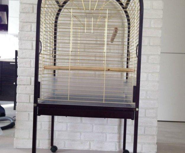 Клетка для больших и средних попугаев. Фото 1. Зеленоград.