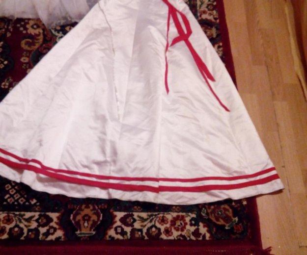 Свадебное платье с аксессуарами отдам почти даром. Фото 3. Москва.