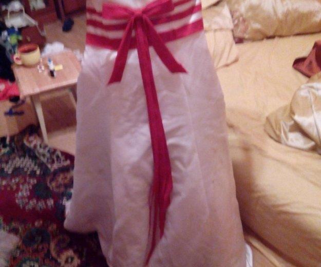 Свадебное платье с аксессуарами отдам почти даром. Фото 4. Москва.