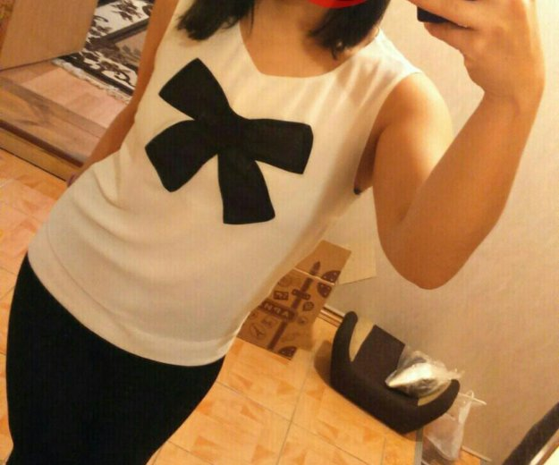 Белая блузка. Фото 1.