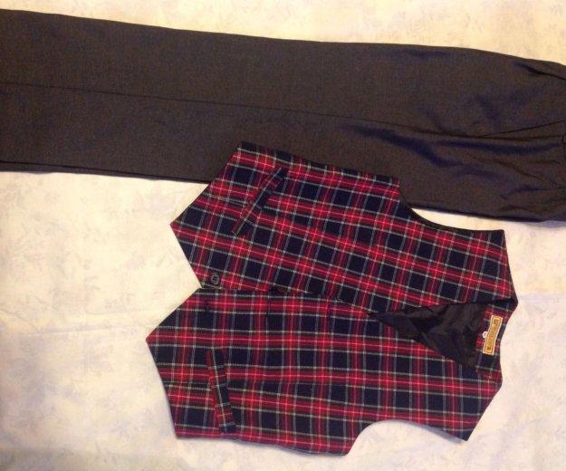 Жилет и брюки, куртка детская, куртка джинс.,жилет. Фото 1. Санкт-Петербург.