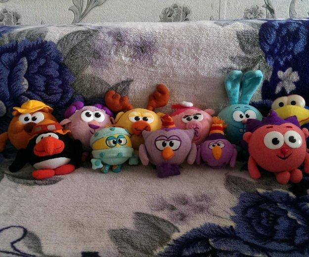 Мягкие игрушки смешарики. Фото 1.