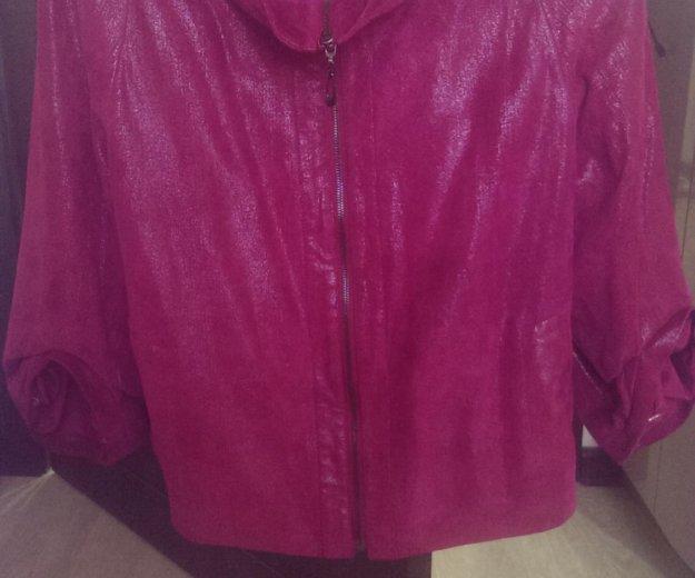 Кожаная куртка новая. Фото 1. Якутск.