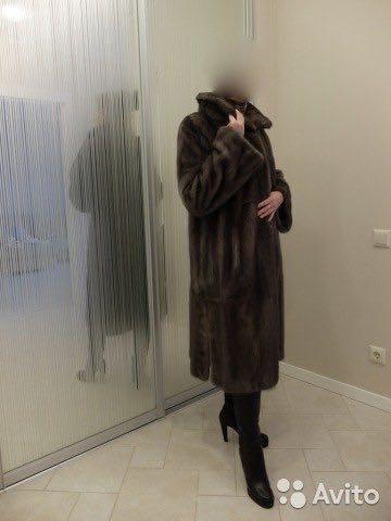 Норковая шуба графитового цвета, не ношенная. Фото 4. Екатеринбург.