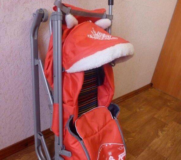Санки-коляска. Фото 3. Хабаровск.