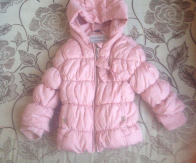 Продам куртку на девочку весна/осень. Фото 1. Челябинск.