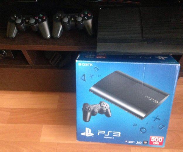 Sony playstation 3 super slim 500 гб. Фото 2. Чугуевка.