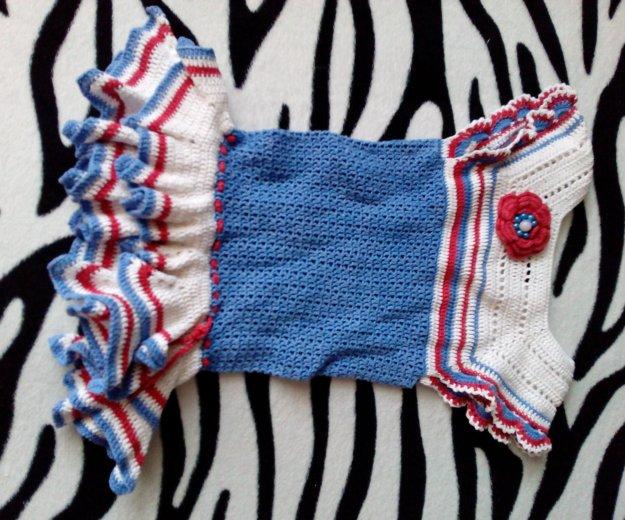 Вязаное платье и шляпка. Фото 1. Иркутск.